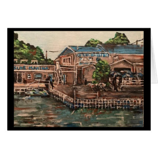 Marina at Portside, Kelley's Island  Greeting Card