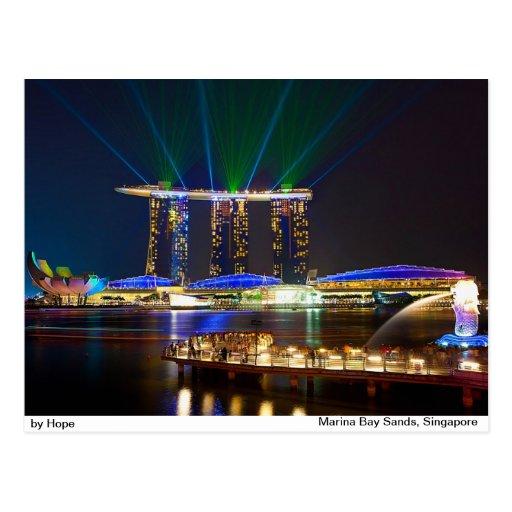 Marina Bay Sands Post Cards