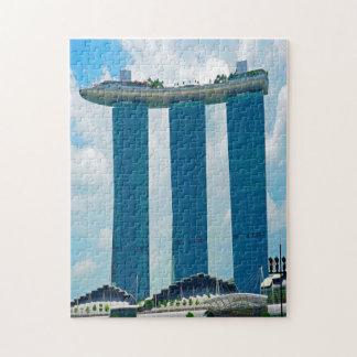 Marina Bay Sands Singapore. Jigsaw Puzzle