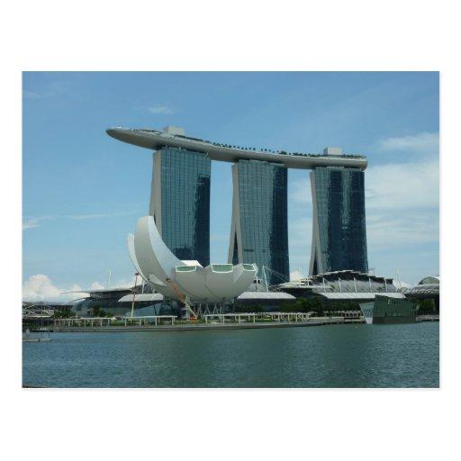 Marina Bay Sands Singapore Postcards
