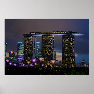 Marina Bay Sands Singapore Poster