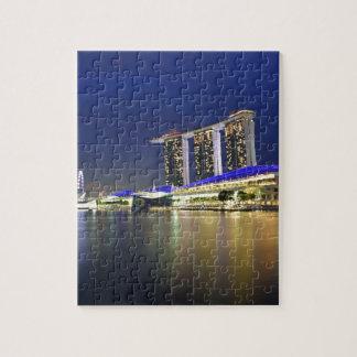 Marina Bay Sands Singapore Puzzle