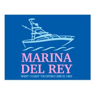 Marina Del Ray Postcard