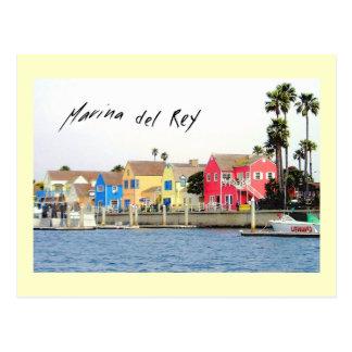 Marina del Rey Postcard