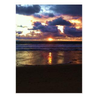 Marina del Rey Sunset Postcard