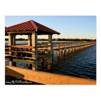 Marina Docks Postcard