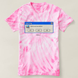 """MARINA.exe Deleted"" - Cyclone Tie-Dye T-Shirt"