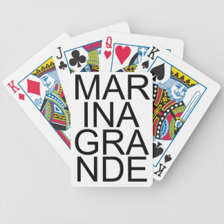 MARINA GRANDE BICYCLE PLAYING CARDS
