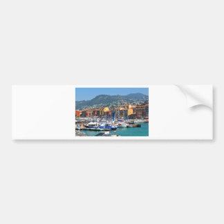 Marina in Nice, France Bumper Sticker