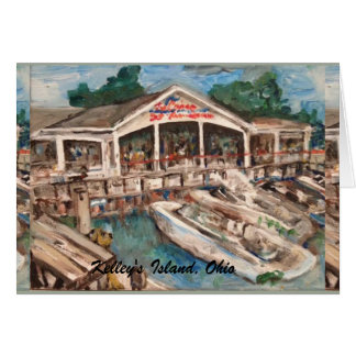 Marina in Western Basin, Kelley's Island Card