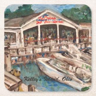 Marina in Western Basin, Kelley's Island Coaster
