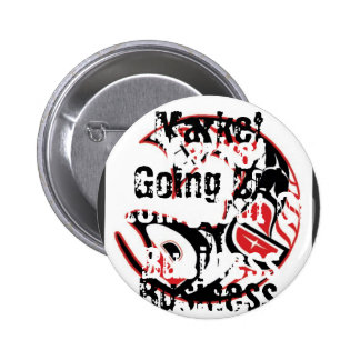 Marina Market Going Out Of Business SALE Pinback Button