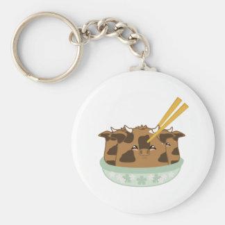 Marinated Moo Moo Dumplings Keychains