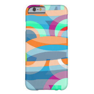 Marine abstraction barely there iPhone 6 case
