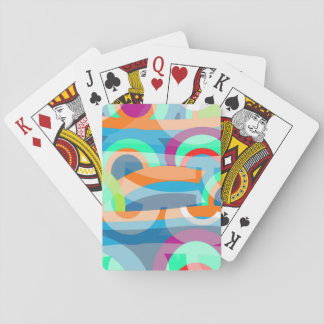 Marine abstraction playing cards