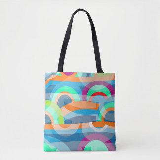 Marine abstraction tote bag