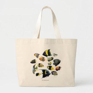 Marine angelfish 優良製品 キャンバスバッグ