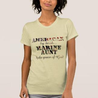 Marine Aunt Grace of God T-shirts