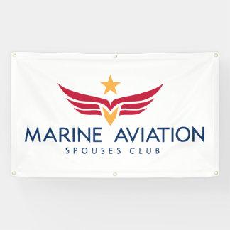 Marine Aviation Spouses Club 3x5' Banner