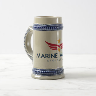 Marine Aviation Spouses Club Beer Stein