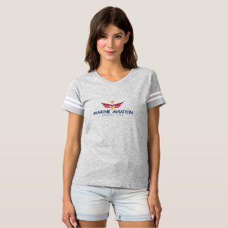 Marine Aviation Spouses Club Football Shirt