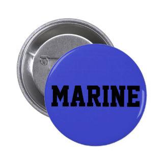 Marine Pinback Button