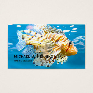 Marine Biologist Business Cards