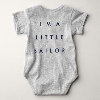 Marine body for babies baby bodysuit