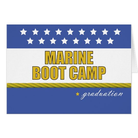 Marine Boot Camp Graduation Card