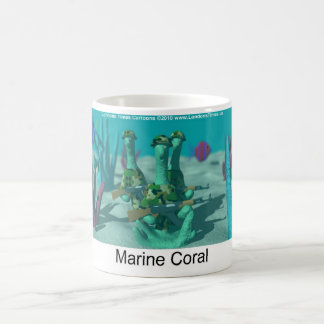 Marine Coral Funny Mugs Tees Cards & Gifts