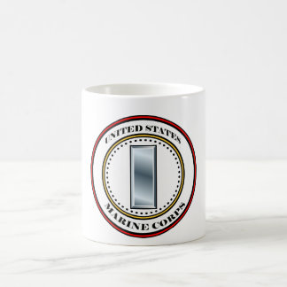 Marine Corps 1stLt First Lieutenant 0-2 Coffee Mug