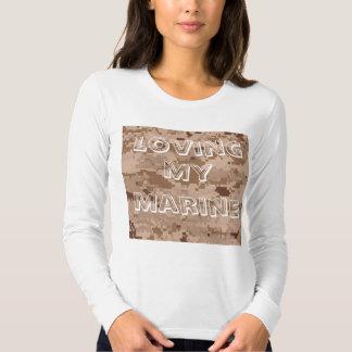 Marine Corps Camo Desert, Loving, My, Marine Shirts