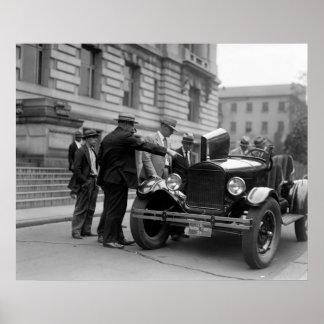 Marine Corps Car 1926 Poster