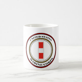 Marine Corps CW03 Chief Warrant Officer 3 W-3 Coffee Mug