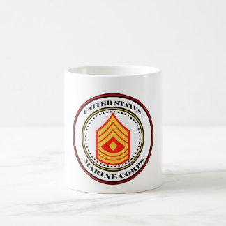 Marine Corps E-8 1st Sgt First Sergeant Coffee Mug