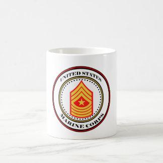 Marine Corps E-9 SgtMaj Sergeant Major Coffee Mug
