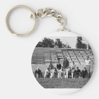 Marine Corps Football: 1923 Basic Round Button Key Ring