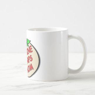 Marine Corps Mom Plaque Coffee Mugs
