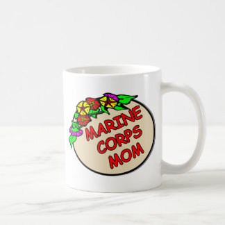 Marine Corps Mom Plaque Coffee Mug