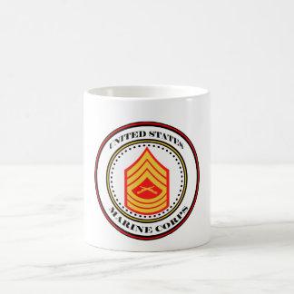 Marine Corps MSgt E-8 Master Sergeant Coffee Mug