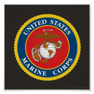 Marine Corps Seal 1 Poster