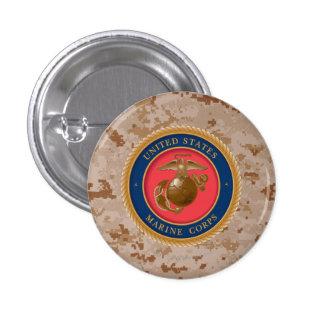 Marine Corps Seal 2 Pinback Button