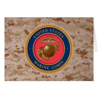 Marine Corps Seal 2 Greeting Card