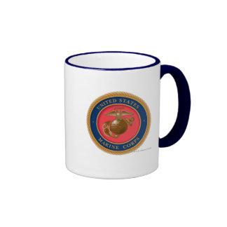 Marine Corps Seal 2 Ringer Mug