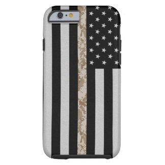 Marine Corps Thin Desert Camo Line Flag iPhone 6 Tough iPhone 6 Case