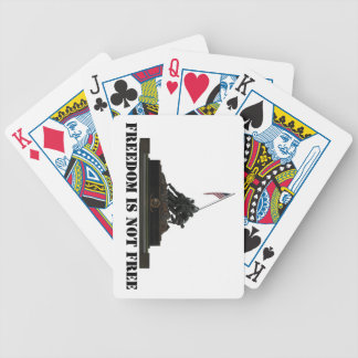 Marine Corps War Memorial Playing Cards