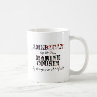 Marine Cousin Grace of God Mug
