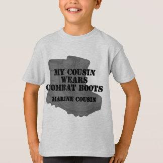 Marine Cousin wears CB T-Shirt