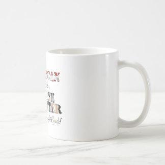 Marine Daughter Grace of God Coffee Mugs