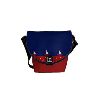 marine design courier bag